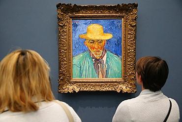 Portrait of a Peasant (Portrait d'un Paysan), 1888 by Vincent Van Gogh, Musee d'Orsay, Paris, France, Europe