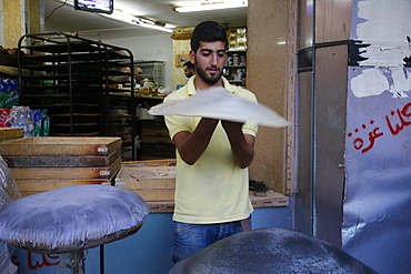 Bakery in Ramallah, West Bank, Palestinian Territories, Middle East