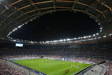 Rugby match at the Stade de France, St. Denis, Seine Saint Denis, France, Europe
