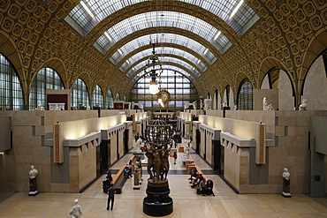 Orsay Museum (Musee d'Orsay), Paris, France, Europe