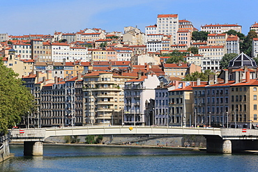 City of Lyon, Rhone Valley, France, Europe