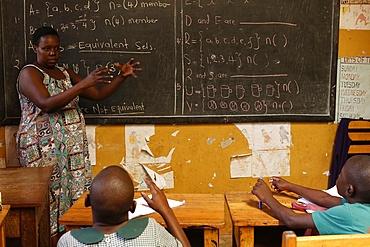 Mulago School for the Deaf, run by the Mulago Catholic Spiritan Community, Uganda, Africa
