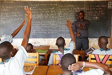 Mulago School for the Deaf, run by the Mulago Catholic Spiritan Community, Mulago, Uganda, Africa