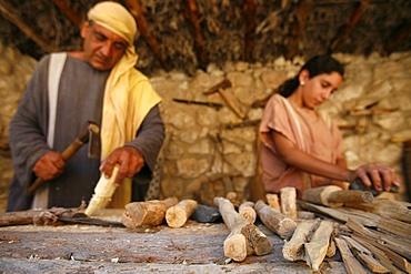 Nazareth biblical village, Nazareth, Galilee, Israel, Middle East