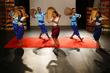 Phare Ponleu Selpak Influence show in Battambang, Cambodia, Indochina, Southeast Asia, Asia