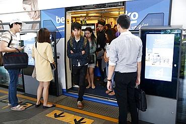 Bangkok subway, Bangkok, Thailand, Southeast Asia, Asia