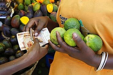 Nakasero market, Kampala, Uganda, Africa