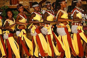 Show at Ndere Cultural Center, Kampala, Uganda, Africa
