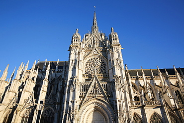 Notre Dame Cathedral, Evreux, Eure, Normandy, France, Europe