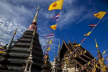Wat Phan Tao, Chiang Mai, Thailand, Southeast Asia, Asia