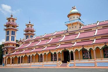 Cao Dai Holy See Temple, Tay Ninh, Vietnam, Indochina, Southeast Asia, Asia