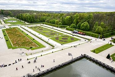 View from Vaux-le-Vicomte Chateau, Seine-et-Marne, France, Europe
