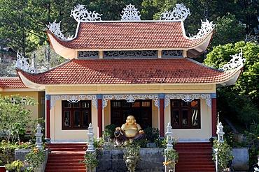 Linh Phong Buddhist temple, Dalat, Vietnam, Indochina, Southeast Asia, Asia