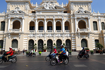 People's Committee building, City Hall, District 1, Ho Chi Minh City (Saigon), Vietnam, Indochina, Southeast Asia, Asia