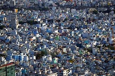 Cityscape of Ho Chin Minh skyline, Ho Chi Minh City, Vietnam, Indochina, Southeast Asia, Asia