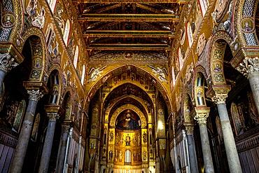 Santa Maria Nuova Cathedral, Monreale, Sicily, Italy, Europe