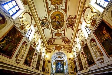 Oratorio del Santissimo Rosario in San Domenico (Oratory of the Rosary of St. Dominic), Palermo, Sicily, Italy, Europe