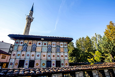 Pasha Mosque, the painted mosque of Tetovo, Republic of Macedonia, Europe