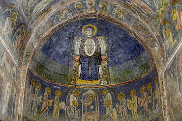 Chancel, St. Sophia Cathedral Church, Ohrid, UNESCO World Heritage Site, Macedonia, Europe