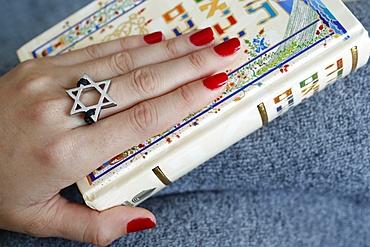 Torah and Star of David, two symbols of Judaism, Vietnam, Indochina, Southeast Asia, Asia