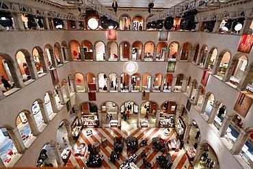The luxury shopping center Fondaco dei Tedeschi, Venice, Veneto, Italy, Europe