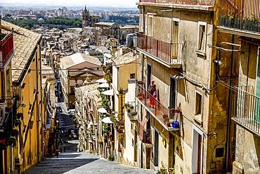 Caltagirone, Sicily, Italy, Mediterranean, Europe