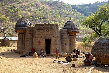Koutammakou village in North Togo, West Africa, Africa