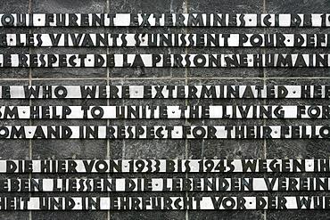 Dachau concentration camp, Dachau, Bavaria, Germany, Europe