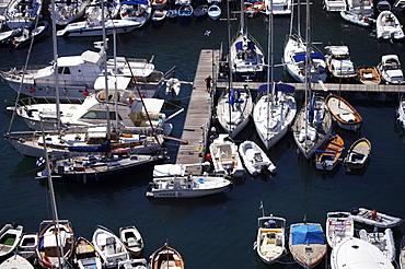 Naples marina, Naples, Campania, Italy, Europe