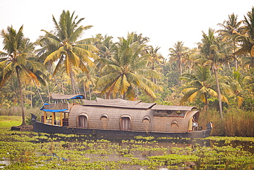 House boat, Kerala, India, Asia