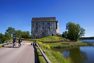 An old castle on Aland main island, Finland, Scandinavia, Europe