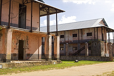 Cells of the penal colony in Saint-Laurent du Maroni, French Guiana, South America