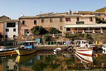 The small village of Centuri in Cap-Corse, Corsica, France, Mediterranean, Europe