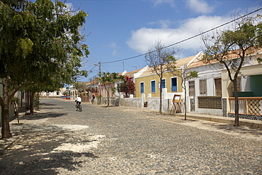 In the village of Povacao Velha, in the center of the island, Boa Vista, Cape Verde Islands, Atlantic, Africa