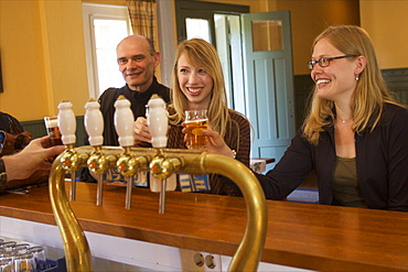 Having a local beer is always very popular on the Aland archipelago, Finland, Scandinavia, Europe