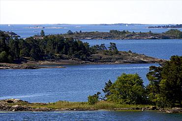 View of the Aland archipelago, Finland, Scandinavia, Europe