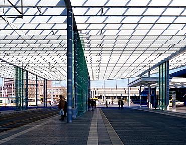 Bus stop, Braunschweig, Niedersachsen, Germany, Europe