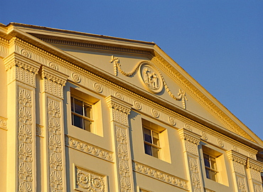 Detail of the South front dating from 1779, Kenwood House, London, England, United Kingdom, Europe