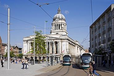 Old Market Square, Nottingham, Nottinghamshire, England, United Kingdom, Europe