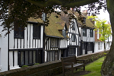 Tudor Houses, Rye, Kent, England, United Kingdom, Europe