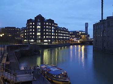 Office building, Queen Street, Bristol, England, United Kingdom, Europe