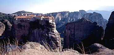 Monastery, Meteora, UNESCO World Heritage Site, Greece, Europe