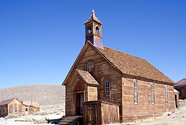 Gold Rush town of Bodie, California, United States of America, North America