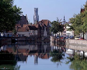 Belfort, Brugge, Belgium, Europe