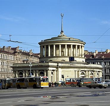 Nevsky Prospekt, Metro Station, St. Petersburg, Russia, Europe