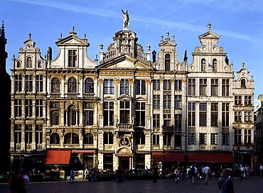 Grand Place, UNESCO World Heritage Site, Brussels, Belgium, Europe