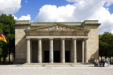 The Neue Wache, central memorial of the Federal Republic of Germany, Berlin, Germany, Europe