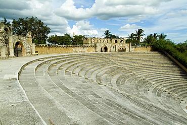 Amphitheatre, Altos de Chavon, La Romana, Dominican Republic, West Indies, Central America