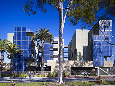 Colorado Court, architects Pugh and Scarpa, Santa Monica, California, United States of America, North America