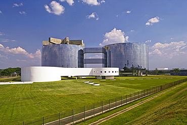 Procuradoria Geral da Republica, architect Oscar Niemeyer, Brasília, UNESCO World Heritage Site, Brazil, South America
